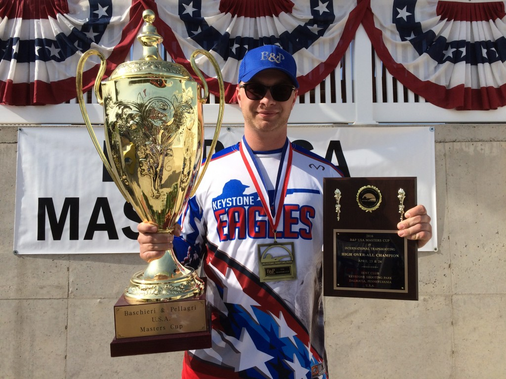 2016 B&P USA Masters Cup Champion - Trap - Alexander Dupre, USA