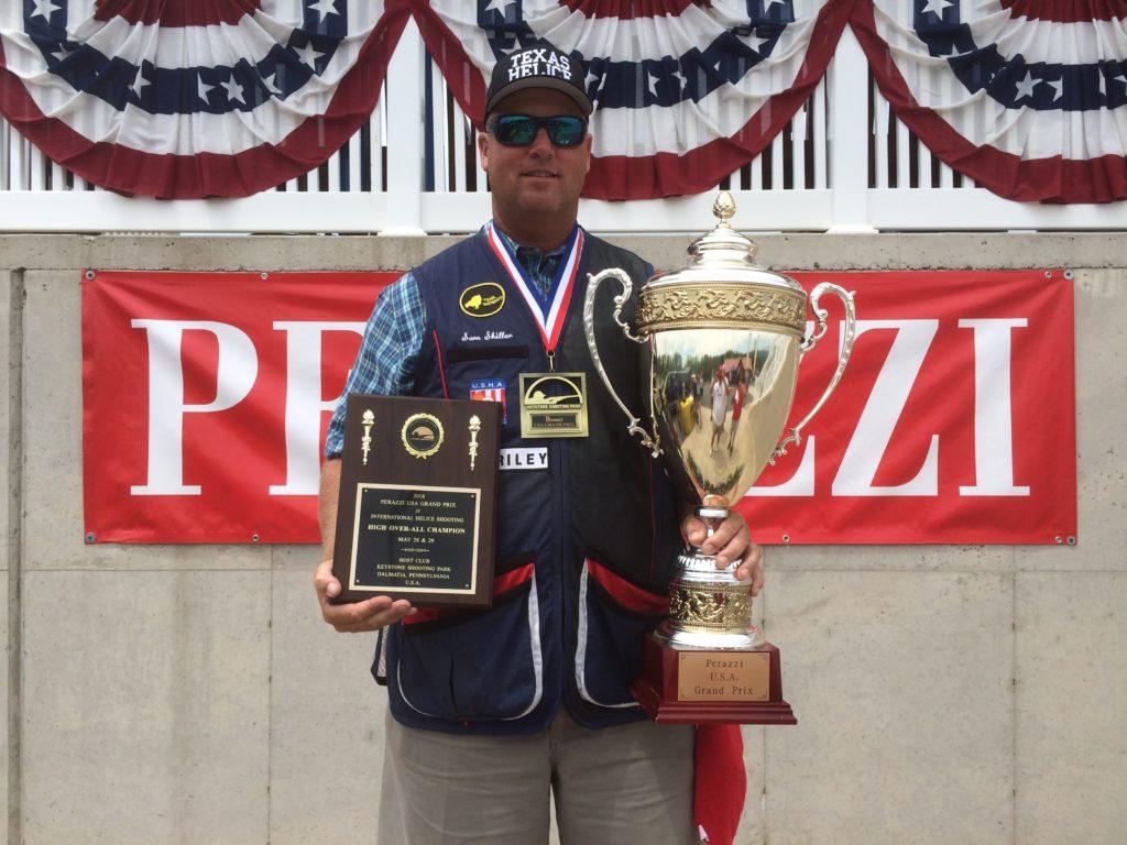 2016 Perazzi USA Grand Prix Champion - Helice - Samuel Shiller, USA