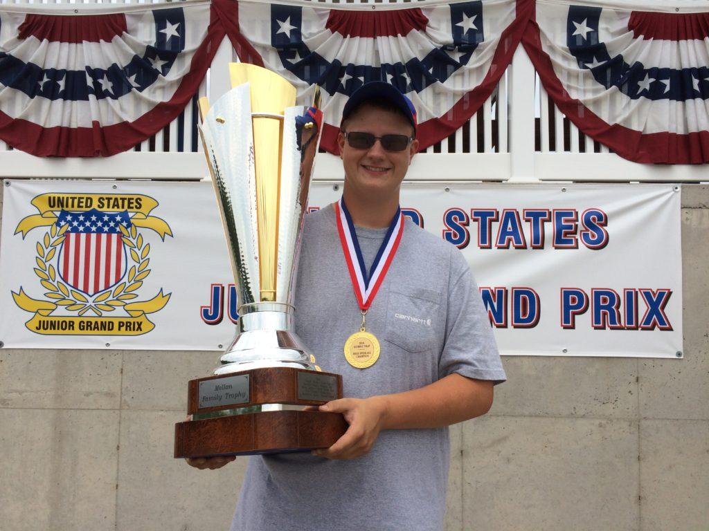 2016 United States Junior Grand Prix Champion - Trap - Trevor Evelhair, USA
