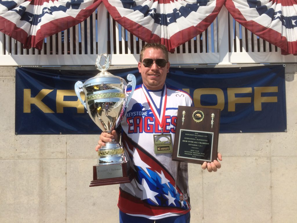 2016 Krieghoff-Haldeman Cup Champion - Trap - Samuel Leiendecker, USA